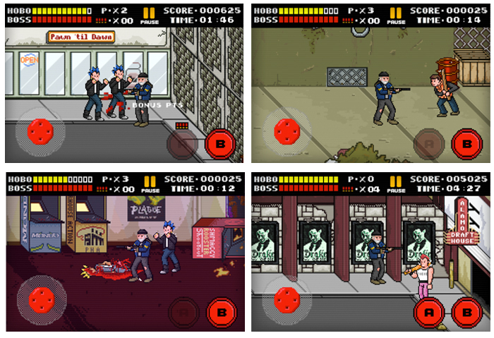 Hobo With A Shotgun Game Design Direction Billy Garretsen