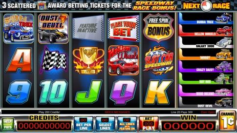 SlotcarSpeedway_GameScreen